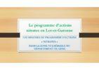Le programme d'actions nitrates en Lot-et-Garonne et Gers